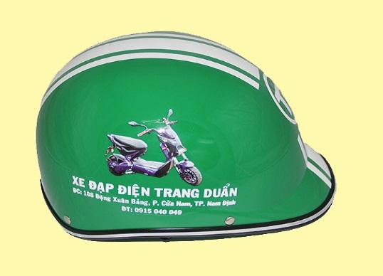 Mu Bao Hiem mo vit - Non Bao Hiem Haly mo vit in logo lam qua tang quang cao thuong hieu (3)