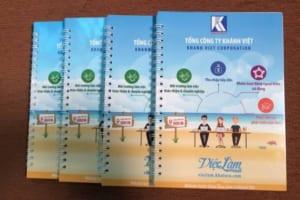 SLT 01 - xuong san xuat so tay lo xo in logo lam qua tang quang cao thuong hieu doanh nghiep khanh viet group (1)