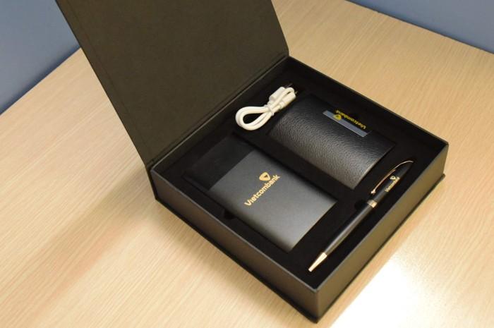 GST 07 - Giftset - Bo qua tang 3in1 Sac du phong-but kim loai-hop vi namecard in logo lam qua tang khach hang VIP quang cao thuong hieu cong ty (1)