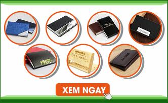 Bao Gia Hop dung card visit namecard khac logo - qua tang thang loi gifts