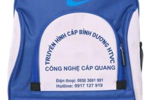 BLT 12 - Balo đeo vai in khắc logo đài truyền hình BHTV