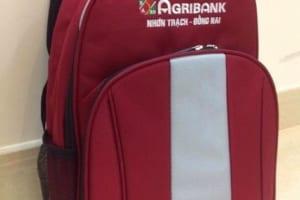 BLT 14- Balo agribank in thêu logo thương hiệu
