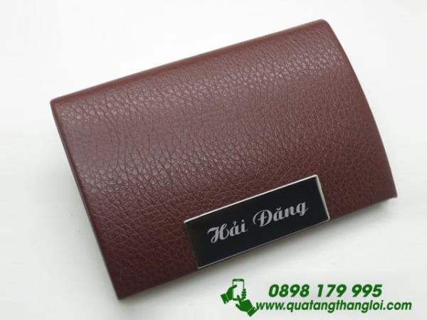 Hop dung namecard in khac logo qua tang quang cao thuong
