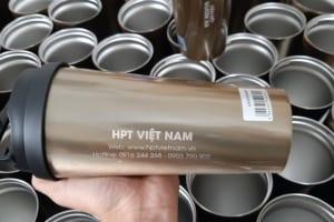 Ly Giữ Nhiệt Lock khắc logo Doanh Nghiệp HPT VIÊT NAM