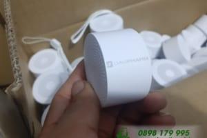 Loa Bluetooth Xiaomi chính hãng Khắc logo DAVIPHARM làm quà tặng khách hàng