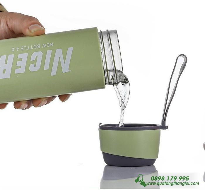 Bình Giữ Nhiệt ThủyTinh in logo giá rẻ